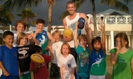 Bombers Dustin Fletcher at Canggu Club