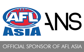 ANS Named official Sponsor of AFL ASIA